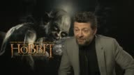 Andy Serkis on directing the second unit at the The Hobbit An Unexpected Journey interviews on the 7th of March 2013