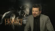 Andy Serkis on fan films and impersonations at the The Hobbit An Unexpected Journey interviews on the 7th of March 2013