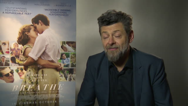 INTERVIEW Andy Serkis on not leaving acting looking to go back to the stage the script is alway the most important thing at 'Breathe' Junket 61st BFI...