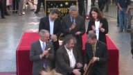 Andy Serkis Peter Jackson at Peter Jackson Honored With Star On The Hollywood Walk Of Fame at Hollywood Walk Of Fame on December 08 2014 in Hollywood...