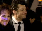 Andy Serkis poses for photographers at British Academy Film Awards 21 February 2010