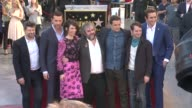 Andy Serkis Richard Armitage Evangeline Lilly Peter Jackson Orlando Bloom Elijah Wood Lee Pace at Peter Jackson Honored With Star On The Hollywood...