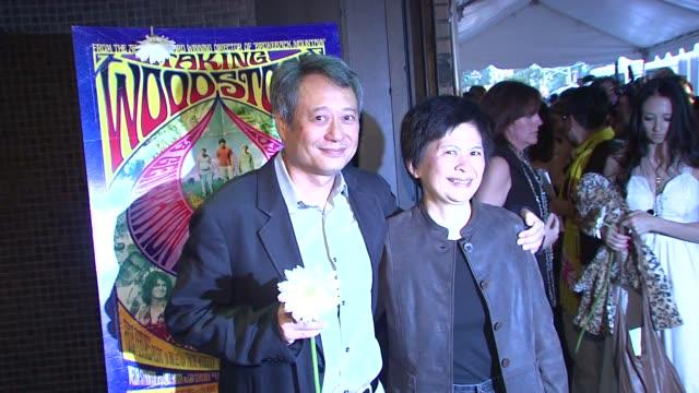 Ang Lee and Jane Lin at the 'Taking Woodstock' New York Premiere at New York NY