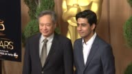 Ang Lee and Suraj Sharma at the 85th Academy Awards Nominations Luncheon in Beverly Hills CA on 2/4/13