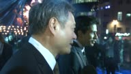 Ang Lee and Suraj Sharma at the UK Premiere of 'Life of Pi' at Empire Leicester Square on December 3 2012 in London England