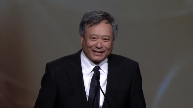 SPEECH Ang Lee at 24th Annual Palm Springs International Film Festival Awards Gala on 1/5/13 in Los Angeles CA
