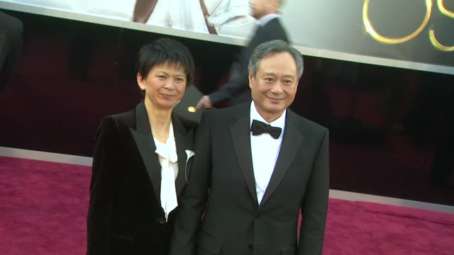 Ang Lee at 85th Annual Academy Awards Arrivals in Hollywood CA on 2/24/13