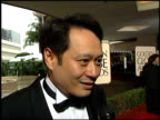 Ang Lee at the 1996 Golden Globe Awards at the Beverly Hilton in Beverly Hills California on January 21 1996