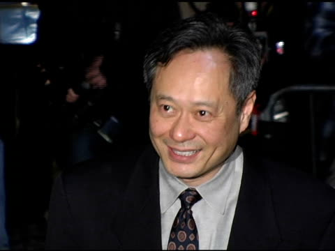 Ang Lee at the 2005 New York Film Critics Circle 71st Annual Awards Dinner at Cipriani 42nd Street in New York New York on January 8 2006
