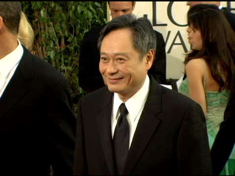 Ang Lee at the 2006 Golden Globe Awards Arrivals at the Beverly Hilton in Beverly Hills California on January 16 2006