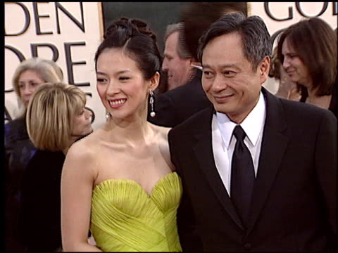 Ang Lee at the 2006 Golden Globe Awards at the Beverly Hilton in Beverly Hills California on January 16 2006