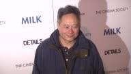 Ang Lee at the 'Milk' Premiere at New York NY
