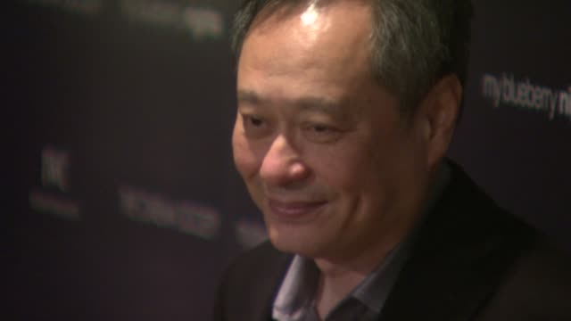 Ang Lee at the 'My Blueberry Nights' Premiere at the Tribeca Grand Screening Room in New York New York on April 2 2008