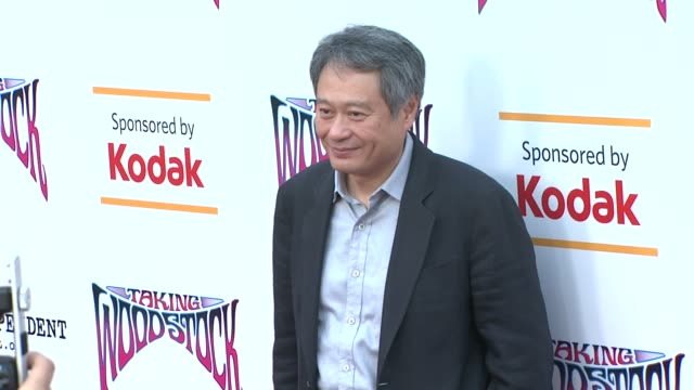 Ang Lee at the 'Taking Woodstock' Los Angeles Premiere at Los Angeles CA