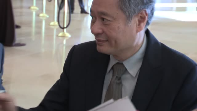 Ang Lee greets fans at the 85th the Academy Awards Nominees Luncheon in Beverly Hills 02/04/13