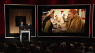 ANNOUNCEMENT Ang Lee Guillermo del Toro at the 88th Annual Academy Awards Nomination at the Academy Of Motion Picture Arts And Sciences on January 14...