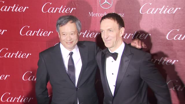 Ang Lee Mychael Danna at 24th Annual Palm Springs International Film Festival Awards Gala on 1/5/13 in Los Angeles CA