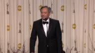 SPEECH Ang Lee on celebrating his win at 85th Annual Academy Awards Press Room in Hollywood CA on 2/24/2013