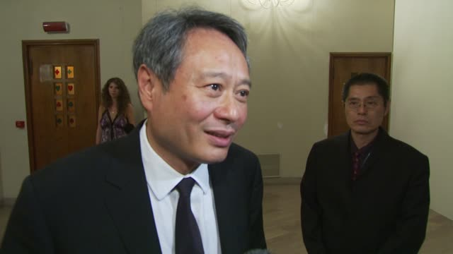 Ang Lee on how the prizes were given on artistic merit and on how the result has been incredible in giving an extra message at the Winners Reactions...