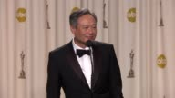 SPEECH Ang Lee on overcoming cultural differences in Hollywood at 85th Annual Academy Awards Press Room in Hollywood CA on 2/24/2013