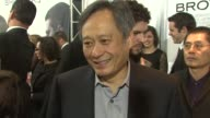 Ang Lee on supporting Tobey Maguire on his next project and on his reaction to his recent film Woodstock at the New York premiere of 'Brothers' at...