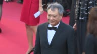 Ang Lee Valerie Perrin Elie Chouraqui and Claude Lelouch at 'The Past' Red Carpet Ang Lee Valerie Perrin Elie Chouraqui and at Palais des Festivals...