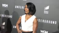 Angela Bassett at the WGN America's Underground World Premiere at Ace Hotel in Los Angeles in Celebrity Sightings in Los Angeles