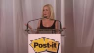 Angela Kinsey on being thrilled to be part of the design contest to celebrate the 30th anniversary of Post It and partner with publicolor at the...
