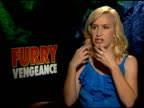 Angela Kinsey on the animals being real at the 'Furry Vengeance' Junket at Los Angeles CA