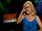 Angela Kinsey on the outtakes at the 'Furry Vengeance' Junket at Los Angeles CA