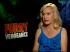 Angela Kinsey on the story at the 'Furry Vengeance' Junket at Los Angeles CA
