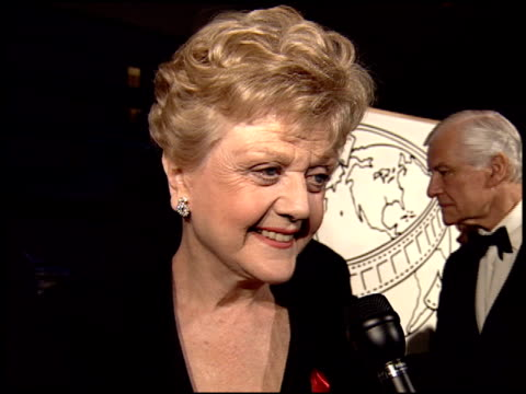 Angela Lansbury at the 1995 Golden Globe Awards at the Beverly Hilton in Beverly Hills California on January 21 1995