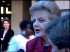Angela Lansbury at the 'Beauty and the Beast' Premiere at Shubert Theater in Century City California on April 13 1995