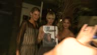 Angela Lindvall Amber Valetta Alexia Niedzielski at HM Conscious Exclusive Dinner in Los Angeles CA