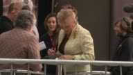 Angela Rippon at London Celebrity Sightings on 20th October 2014 in London England