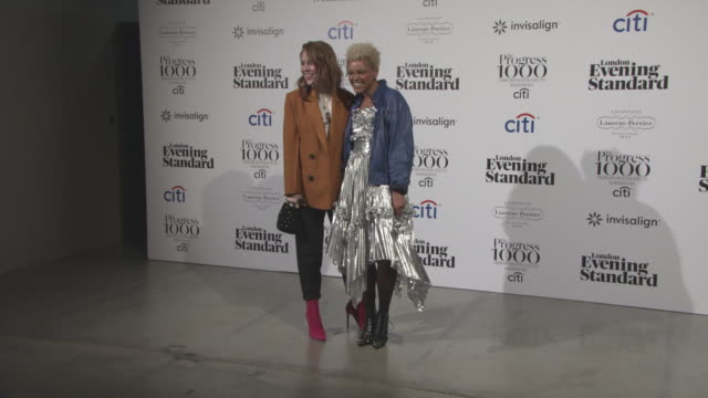 Angela Scanlon Gemma Cairney at The Progress 1000 London's Most Influential People in partnership with Citi and sponsored by Invisalign UK on October...