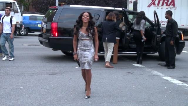 Angela Simmons at Charlotte Ronson Show at New York Fashion Week 9/10/2011
