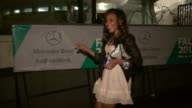 Angela Simmons at Fashion Week Lincoln Center 02/13/12 in Celebrity Sightings in New York