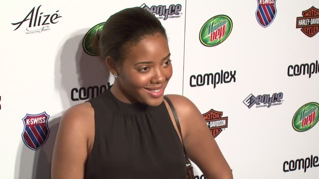 Angela Simmons at the 5th Anniversary of Complex Magazine Hosted by Travis Barker at AREA in West Hollywood California on April 10 2007