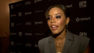 Angela Simmons on fashion at the Erika Christensen to Host Gen Art Fresh Faces in Fashion Presented by smart car at New York NY