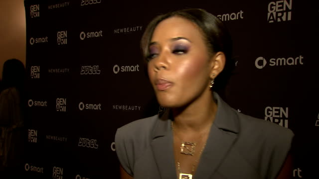 Angela Simmons on the importance of supporting the event