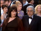 Angelica Huston at the 1996 Academy Awards Arrivals at the Shrine Auditorium in Los Angeles California on March 25 1996