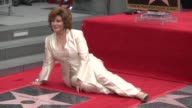 Angelica Maria is honored with a star on the Hollywood Walk of Fame the 2582nd on the famous boulevard