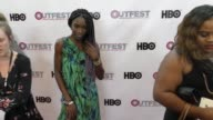 Angelica Ross at The 2017 Outfest Los Angeles LGBT Film Festival Opening Night Gala of GOD'S OWN COUNTRY at Orpheum Theatre on July 06 2017 in Los...