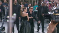 Angelina Jolie and Brad Pitt arrival Disney's 'Maleficent' World Premiere at the El Capitan Theatre on May 28 2014 in Hollywood California