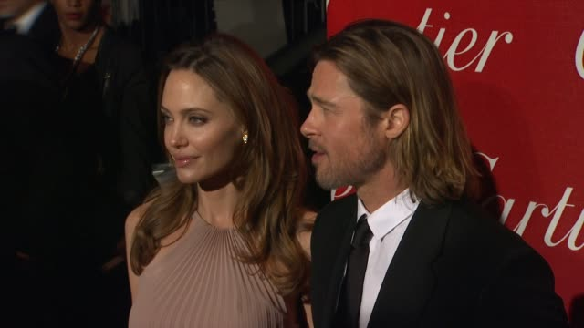 Angelina Jolie and Brad Pitt at The 23rd Annual Palm Springs International Film Festival Awards Gala on 1/7/2012 in Palm Springs CA