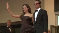 Angelina Jolie and Brad Pitt at the The Tree of Life Premiere 64th Cannes Film Festival at Cannes