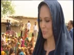 Angelina Jolie assists fundraising efforts in pakistan through her role as goodwill ambassador for the United Nations