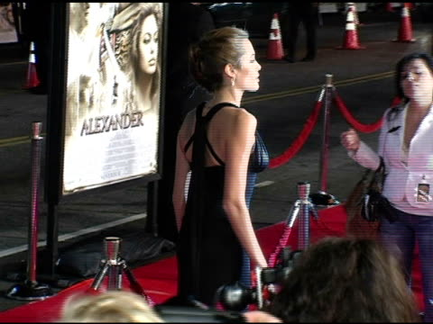 Angelina Jolie at the 'Alexander' Premiere Arrivals at Grauman's Chinese Theatre in Hollywood California on November 16 2004