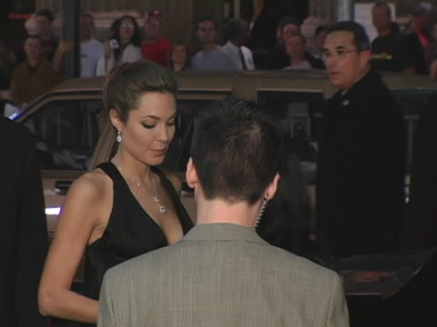 Angelina Jolie at the Alexander Premiere Arrivals at Graumans Chinese Theater in Hollywood California